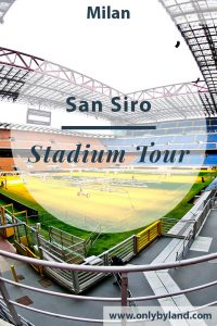 A stadium tour of the San Siro in Milan. Home stadium of Inter Milan and AC Milan.