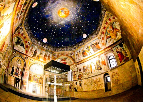 Church of Santa Maria in Solario, UNESCO site in Brescia