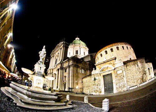 Old and New Cathedrals of Brescia