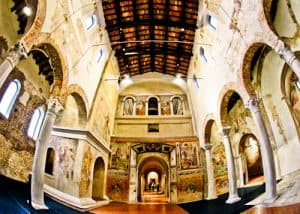 Basilica of San Salvatore, UNESCO site in Brescia