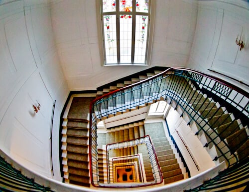 Kempinski Palace Portoroz Piran Istria Slovenia - staircase