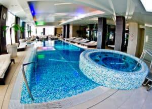 Kempinski Palace Portoroz Piran Istria Slovenia - Rose Spa - Pool