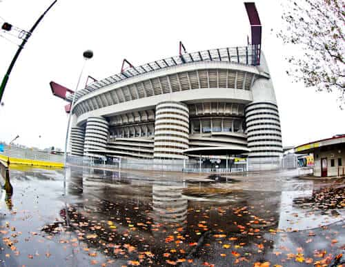 Inter Milan / AC Milan San Siro Stadium Tour - location