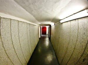 Inter Milan / AC Milan San Siro Stadium Tour - players tunnel
