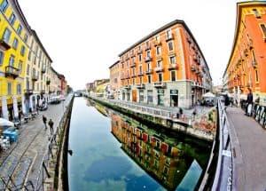 Naviglio canal District, Milan