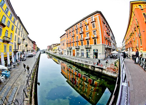 Naviglio canal District, Milan