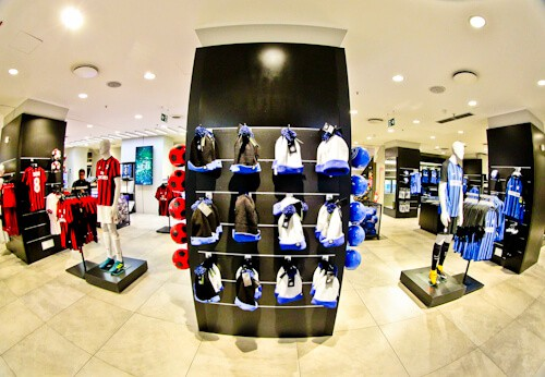 Inter Milan / AC Milan San Siro Stadium Tour - club shop