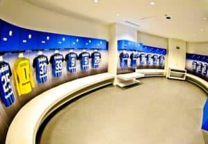 Inter Milan / AC Milan San Siro Stadium Tour - Inter Milan dressing rooms