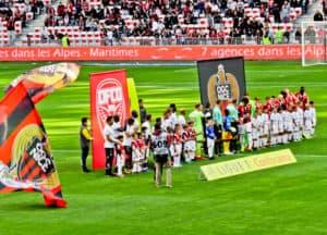 OGC Nice - matchday experience - Allianz Riviera stadium - teams