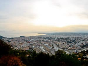 Nice Observatory - panoramic view of Nice and the French Riviera