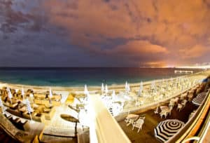 Beaches of Nice, France