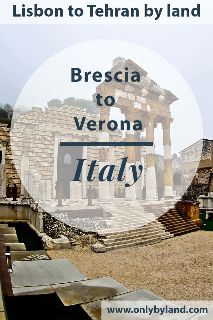 Brescia to Verona by bus