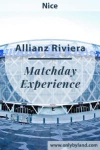 A matchday experience at the Allianz Riviera in Nice. The game I watched was OGC Nice Vs Dijon.