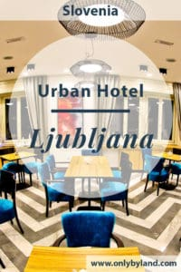 Urban Hotel is located in Ljubljana. It's a 4 star hotel with a delicious complimentary breakfast buffet. It is located in the center of Ljubljana within walking distance of all major attractions of the city