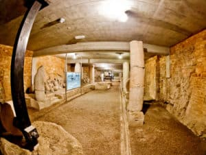 Pula Arena Croatia Roman Amphitheater, Underground