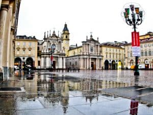 Via Roma and Piazza San Carlo, Turin