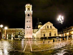 Turin Cathedral and the Shroud of Turin, Piazza Castello