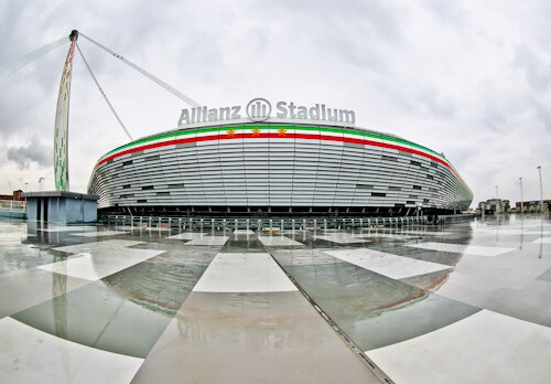 Juventus Allianz Stadium Tour, Turin - location