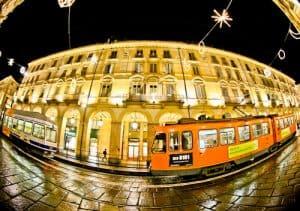 Via Po tram, Turin