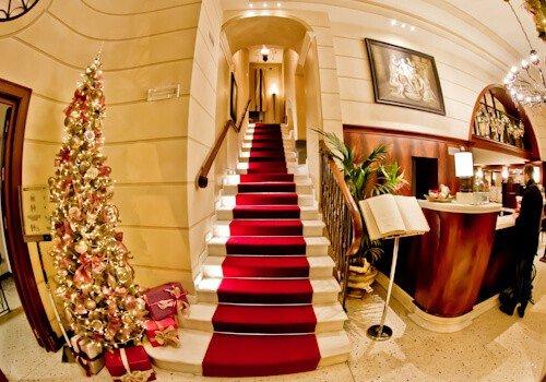 Victoria Hotel Letterario Trieste, check in