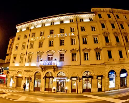 Victoria Hotel Letterario Trieste, location