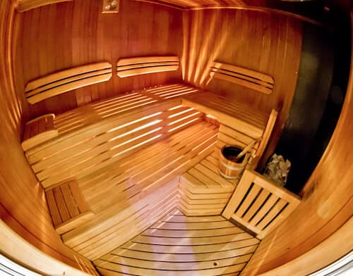 Victoria Hotel Letterario Trieste, wellness center sauna