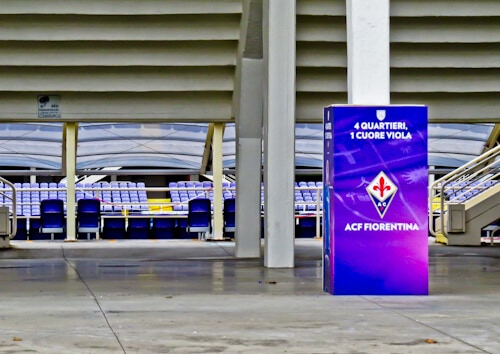 watch a Fiorentina football match at Stadio Artemio Franchi