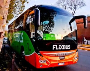 how to get from Florence to Rome by bus. Flixbus.