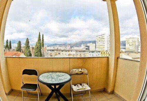 Guesthouse Vujevic, Split, Croatia, guest balcony