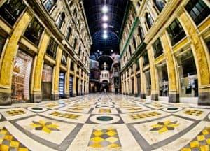 Galleria Umberto I, shopping gallery, Naples, Italy