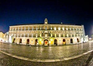 Royal Palace of Naples and Piazza del Plebiscito, Naples