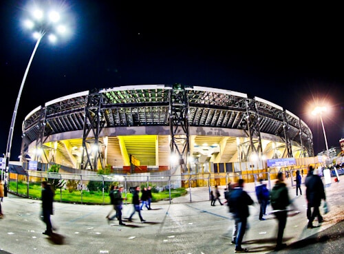 Napoli match day experience - Stadio Sao Paolo - Naples - location