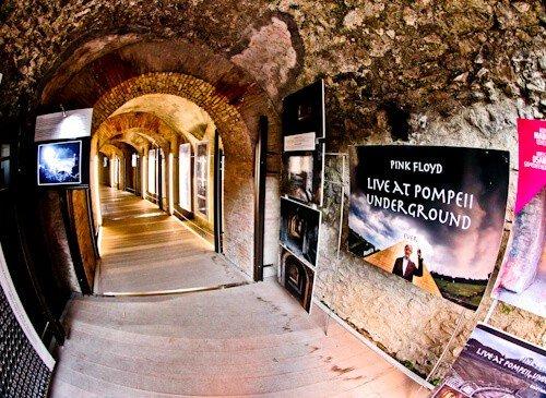 Amphitheater of Pompeii, Ancient Pompeii - Pink Floyd Concert