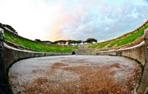 Amphitheater of Pompeii, Ancient Pompeii - Arena
