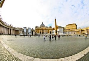 St. Peter's Square and St. Peter's Basilica, Vatican City