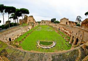 Stadium of Domitian, Palatine Hill, Rome