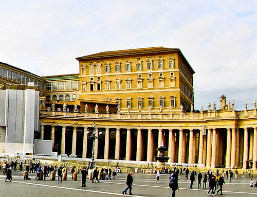 Residence of the Pope, Apostolic Palace, Vatican City