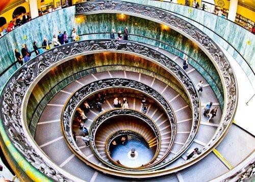 Bramante Staircase, Vatican City