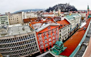 Grand Hotel Union Ljubljana, Slovenia - location