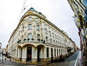 Grand Hotel Union Ljubljana, Slovenia - location