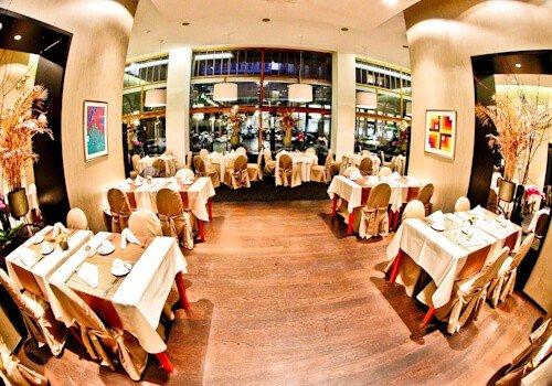 Grand Hotel Union Ljubljana, Slovenia - breakfast buffet