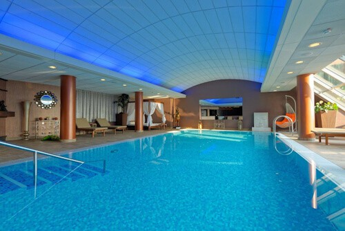 Grand Hotel Union Ljubljana, Slovenia - Penthouse swimming pool