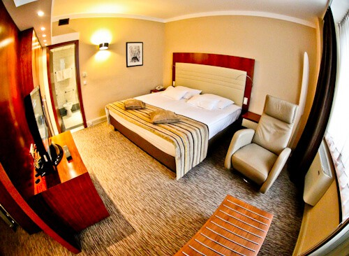 Grand Hotel Union Ljubljana, Slovenia - guest room
