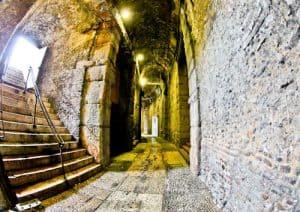 Verona Arena, Roman Amphitheater, Italy - interior