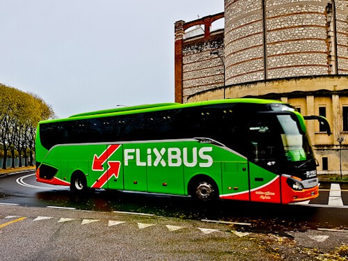 bus from verona to Florence. Flixbus.