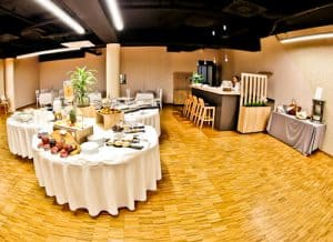 Hotel Academia Zagreb, Croatia - complimentary buffet breakfast