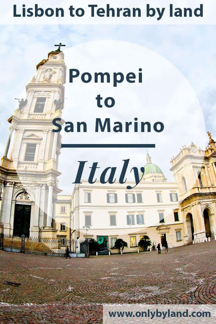 Pompei to San Marino