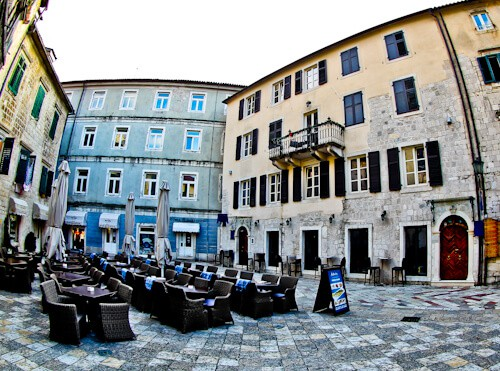 Astoria Boutique Hotel, Kotor Montenegro - location
