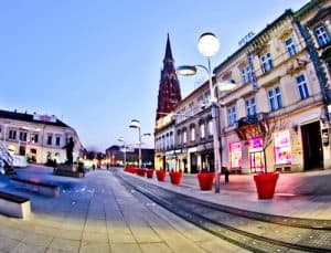 Hotel Central Osijek, Croatia - location