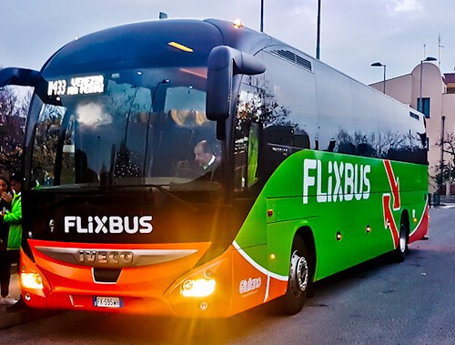 how to get from San Marino / Rimini to Venice, Flixbus